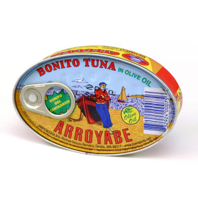 2 Tins of 'Bonito del Norte' Tuna in Olive Oil by Arroyabe