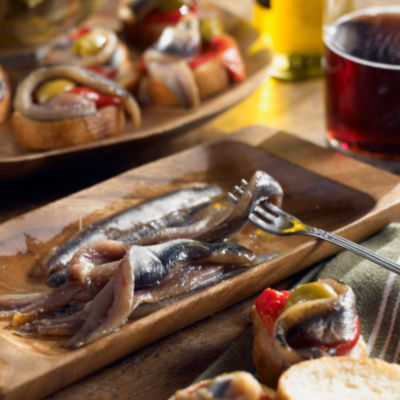 Smoked Anchovy Fillets by Nardin