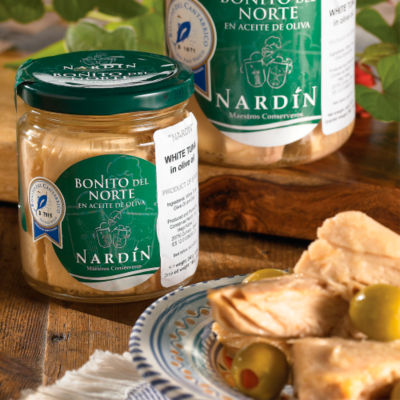 Bonito del Norte Tuna Loin by Nardin (8.5 Ounces)