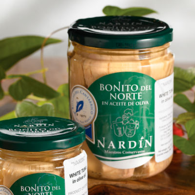 Bonito del Norte Tuna Loin by Nardin (9.8 Ounces)