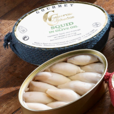 2 Tins of Chipirones by Conservas de Cambados - Squid in Olive Oil