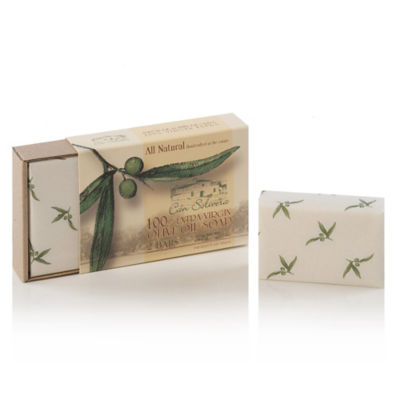 2 Bars of Handmade 100% Extra Virgin Olive Oil Soap