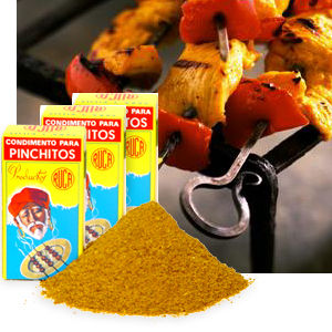 3 Packages of Pinchitos Kabab Spice from Granada