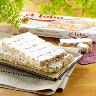 2 Boxes of Alicante Turron Candy by El Lobo