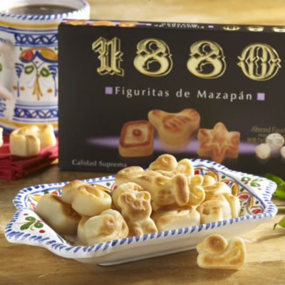 2 Boxes of Marzipan Figures by 1880