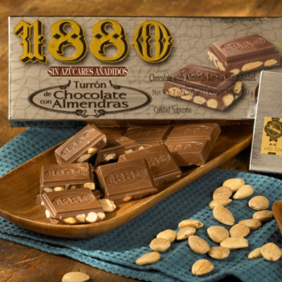 Sugar Free Chocolate Almond Candy by 1880