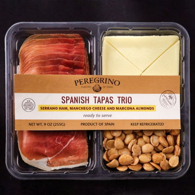 Tapas Tasting Tray with Jamón, Manchego Cheese and Almonds