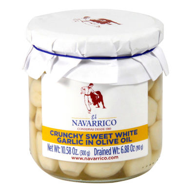 Crunchy Sweet White Garlic