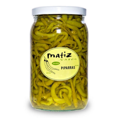 Piparras Peppers by Matiz Vasco (Extra Large Jar)