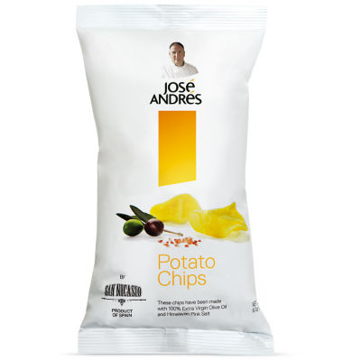Extra Virgin Olive Oil Potato Chips by José Andrés Foods - 6.7 Ounces