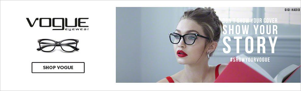 Designer Eyewear: Browse Vogue Eyeglasses & Sunglasses