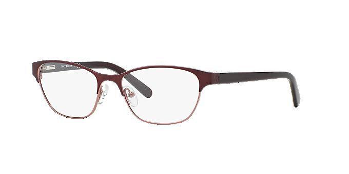 1a05ef461b TY1015  Shop Tory Burch Red Burgundy Cat Eye Eyeglasses at LensCrafters