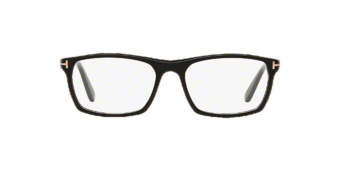 fa2a6db9fb249 FT5295  Shop Tom Ford Black Rectangle Eyeglasses at LensCrafters