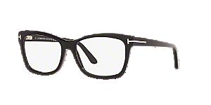 Tom Ford Unisex Ft5424 Black Size: 55