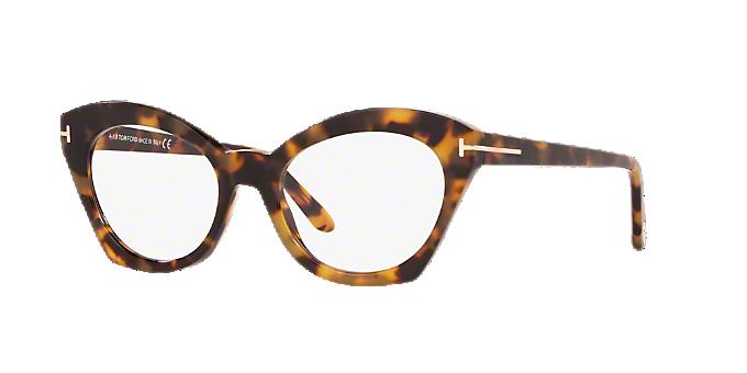 abb4829c7d1f5 FT5456  Shop Tom Ford Tortoise Cat Eye Eyeglasses at LensCrafters
