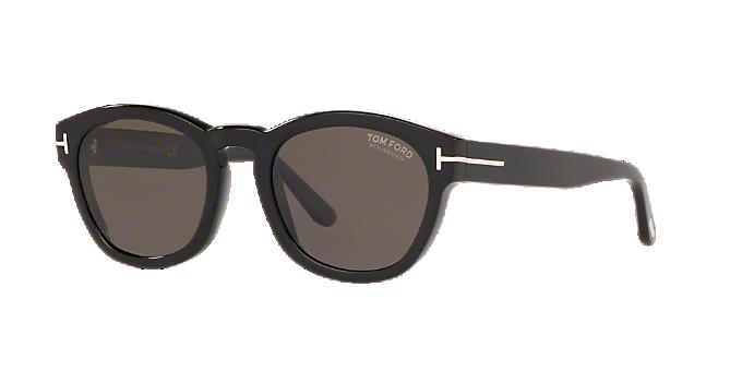 b37b95b0bd FT0590 51: ver Gafas de sol irregulares Tom Ford en negro en ...