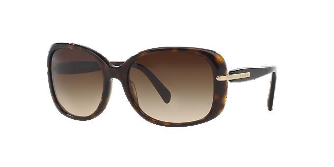 PR 08OS  Shop Prada Tortoise Rectangle Sunglasses at LensCrafters 828b8a949e7c