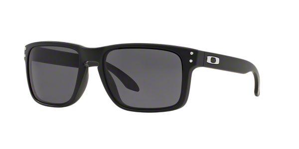 83ab3e2a2e8 OO9102 HOLBROOK  Shop Oakley Black Square Sunglasses at LensCrafters