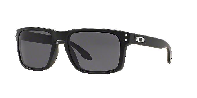 f9f4a0e0d8 OO9102 HOLBROOK  Shop Oakley Black Square Sunglasses at LensCrafters