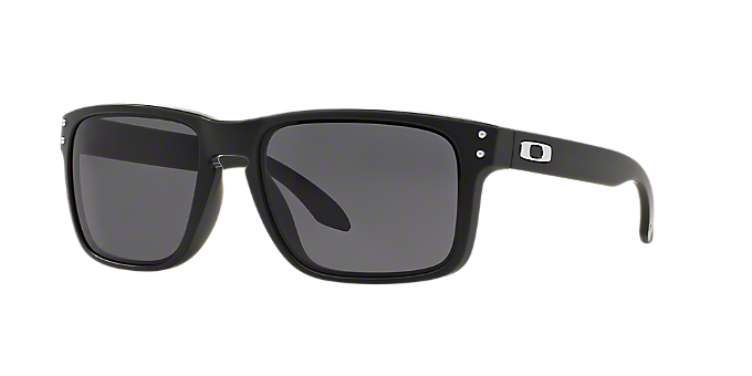 5f56b2f77d OO9102 HOLBROOK  Shop Oakley Black Square Sunglasses at LensCrafters