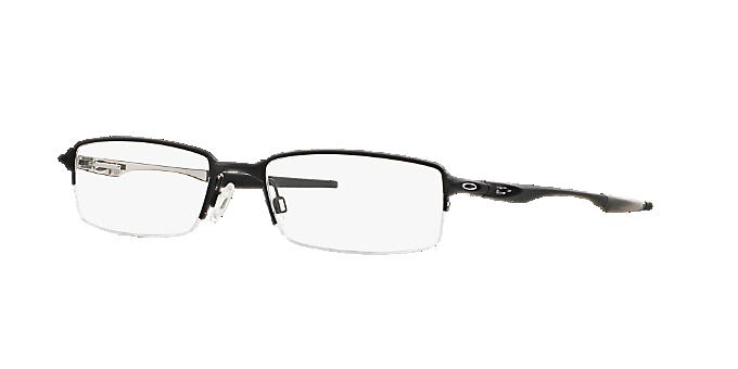 0f99ad19c5 HALFSHOCK  Shop Oakley Black Rectangle Eyeglasses at LensCrafters
