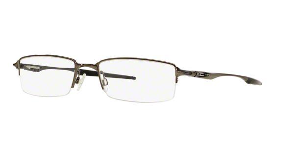 8a28e29e986 OX3119 HALFSHOCK  Shop Oakley Silver Gunmetal Grey Rectangle Eyeglasses at  LensCrafters