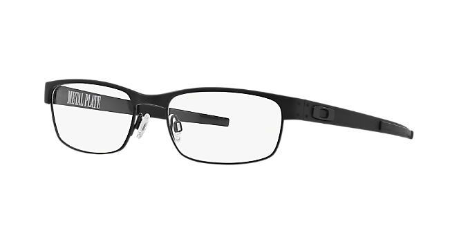c7ed9a25e6 OX5038 METAL PLATE  Shop Oakley Black Rectangle Eyeglasses at ...