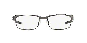 OX5038 METAL PLATE  Shop Oakley Black Rectangle Eyeglasses at ... 1361e1b3a0