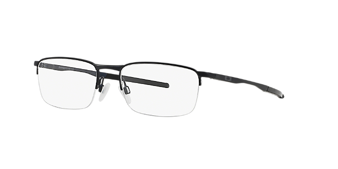 3e645cea85 OX3174 BARRELHOUSE 0  Shop Oakley Blue Rectangle Eyeglasses at ...