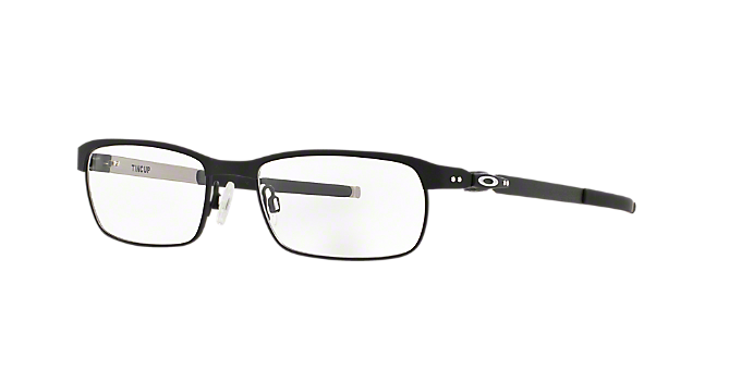 0294e871ec OX3184 TINCUP  Shop Oakley Black Rectangle Eyeglasses at LensCrafters