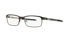 9b0ec5c9ec OX3184 TINCUP  Shop Oakley Silver Gunmetal Grey Rectangle Eyeglasses ...