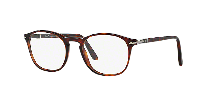 5039994d73 PO3007V  Shop Persol Brown Tan Square Eyeglasses at LensCrafters