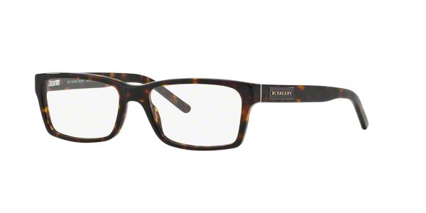 32808ea5d5 BE2108  Shop Burberry Tortoise Square Eyeglasses at LensCrafters