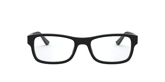 5b193610668 RX5268  Shop Ray-Ban Black Rectangle Eyeglasses at LensCrafters