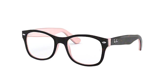 RY1528: Shop Ray-Ban Jr Tortoise Square Eyeglasses at LensCrafters