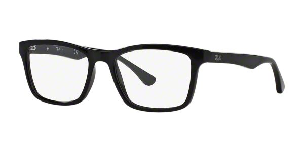 2ec74e0f89 RX5279  Shop Ray-Ban Black Square Eyeglasses at LensCrafters