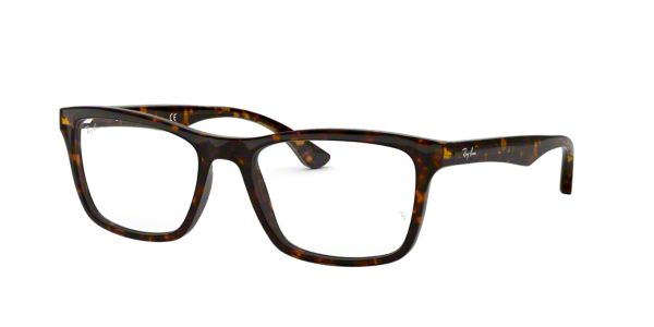 RX5279  Shop Ray-Ban Brown Tan Square Eyeglasses at LensCrafters f45a29f2311b