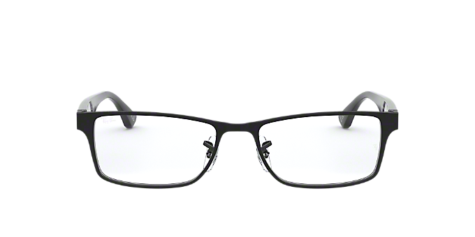 90bb59433c08 RX6238  Shop Ray-Ban Black Square Eyeglasses at LensCrafters