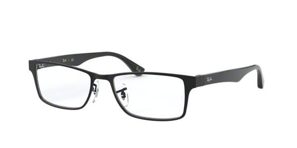 bfa4fd012ea RX6238  Shop Ray-Ban Black Square Eyeglasses at LensCrafters