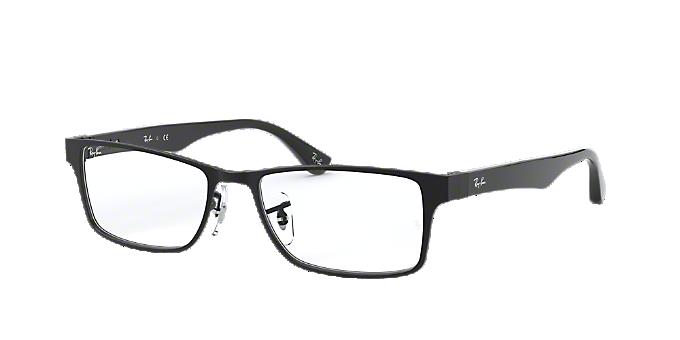 9252834020 RX6238  Shop Ray-Ban Black Square Eyeglasses at LensCrafters