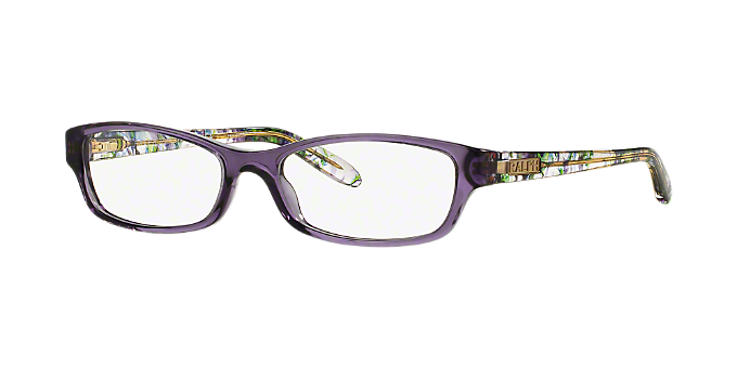 4dfb330d1a RA7040  Shop Ralph Pink Purple Rectangle Eyeglasses at LensCrafters
