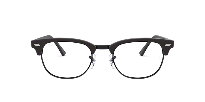 b5caed4d24 RX5154  Shop Ray-Ban Black Square Eyeglasses at LensCrafters