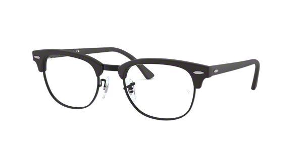 3da40dcbd RX5154: Shop Ray-Ban Black Square Eyeglasses at LensCrafters