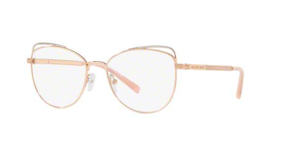 482a3fd17134e MK3025 SANTIAGO  Shop Michael Kors Pink Purple Cat Eye Eyeglasses at  LensCrafters