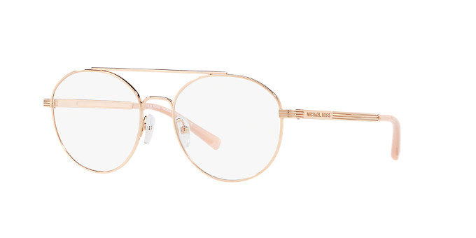 9fdd2df973f7 MK3024 ST. BARTS: Shop Michael Kors Pink/Purple Eyeglasses at ...