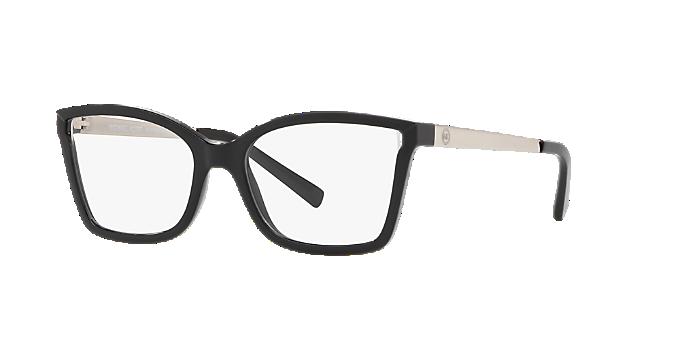 c7011437976 MK4058 CARACAS  Shop Michael Kors Black Rectangle Eyeglasses at ...