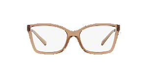 2334498cea MK4058 CARACAS  Shop Michael Kors Black Rectangle Eyeglasses at ...