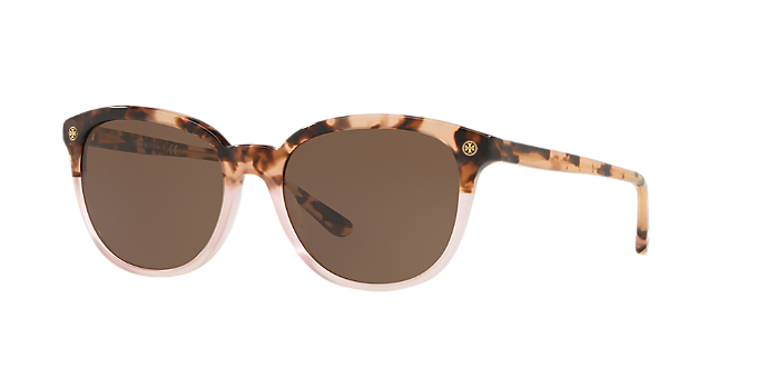 7c46b497e2ef TY7131 55: Shop Tory Burch Tortoise Sunglasses at LensCrafters
