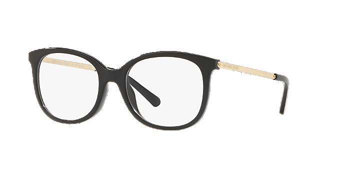8b72f80c052c MK4061U OSLO: Shop Michael Kors Black Square Eyeglasses at LensCrafters