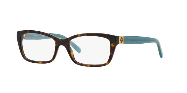 12cf903773a TY2049  Shop Tory Burch Tortoise Rectangle Eyeglasses at LensCrafters